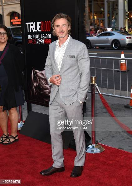 Actor Sam Trammell attends the premiere of HBO's 'True Blood' season 7 and final season at TCL Chinese Theatre on June 17 2014 in Hollywood California