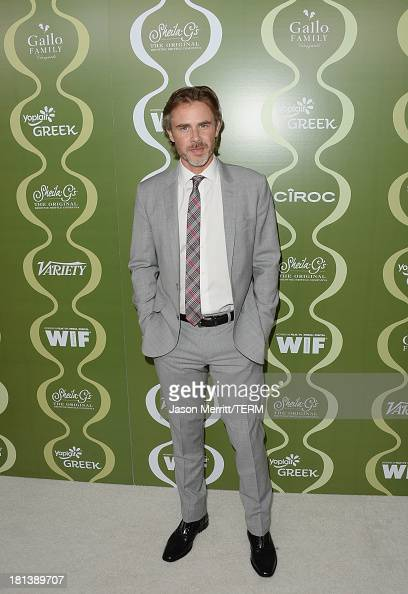 Actor Sam Trammell attends Variety Women In Film PreEmmy Event presented by Yoplait Greek at Scarpetta on September 20 2013 in Beverly Hills...