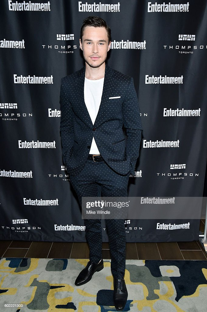 Actor Sam Underwood attends Entertainment Weekly's Toronto Must List party at the Thompson Hotel on September 10, 2016 in Toronto, Canada.