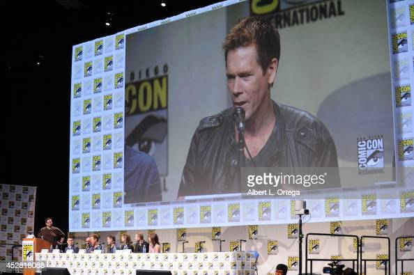 Actor Sam Underwood director Marcos Siega actor Kevin Bacon show creator Kevin Williamson executive producer Jennifer Johnson actors Shawn Ashmore...