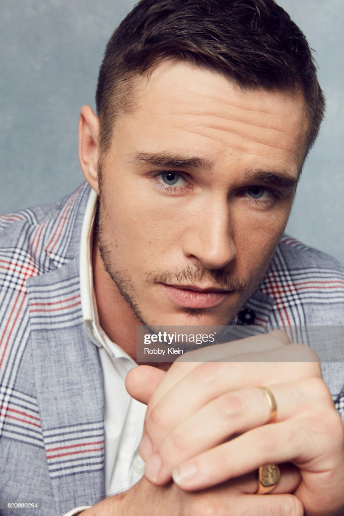 Actor Sam Underwood from AMC's 'Fear of the Walking Dead' poses for a portrait during Comic-Con 2017 at Hard Rock Hotel San Diego on July 20, 2017 in San Diego, California.