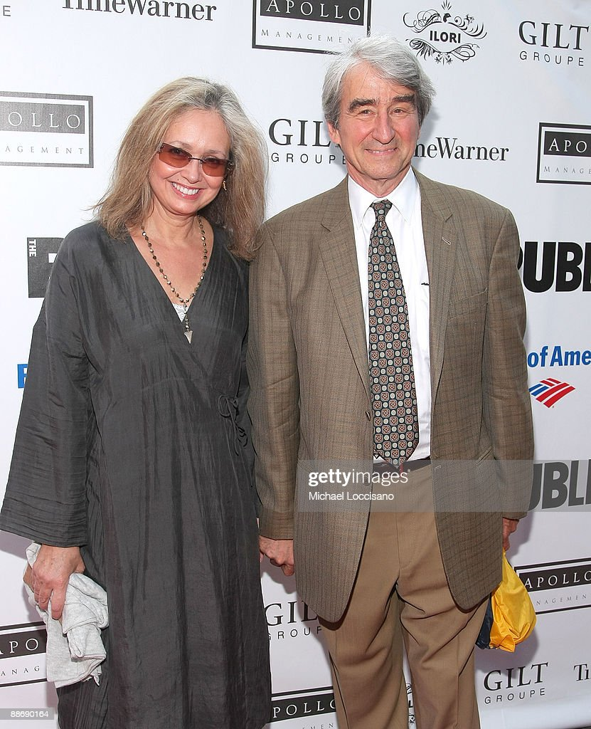 Actor Sam Waterston (right) and wife, Lynn Waterston attend the 2009 Shakespeare in the Park opening night gala performance of 'Twelfth Night' at the Delacorte Theater on June 25, 2009 in New York City.