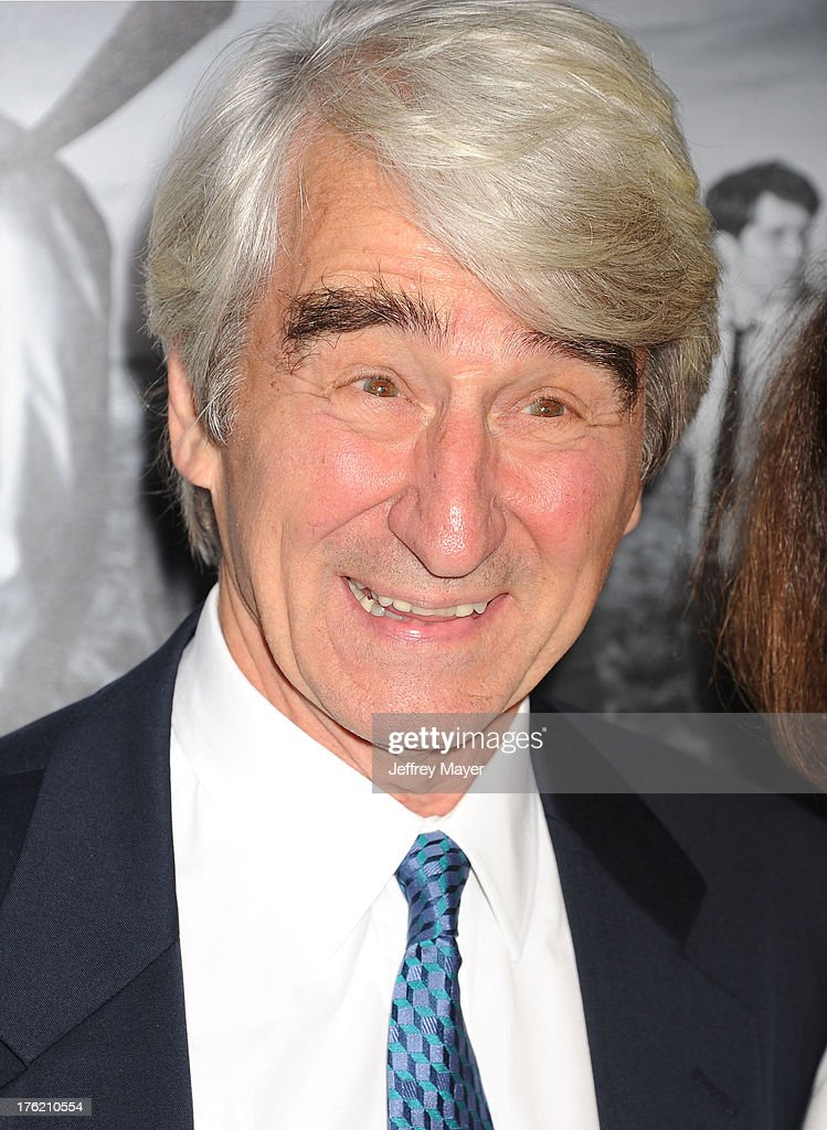 Actor <a gi-track='captionPersonalityLinkClicked' href=/galleries/search?phrase=Sam+Waterston&family=editorial&specificpeople=212718 ng-click='$event.stopPropagation()'>Sam Waterston</a> arrives at the Los Angeles Season 2 Premiere Of HBO's Series 'The Newsroom' at Paramount Studios on July 10, 2013 in Hollywood, California.