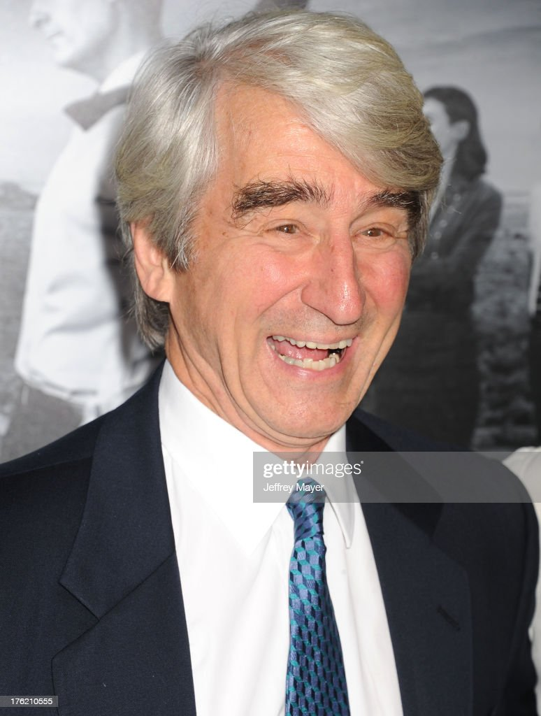 Actor Sam Waterston arrives at the Los Angeles Season 2 Premiere Of HBO's Series 'The Newsroom' at Paramount Studios on July 10, 2013 in Hollywood, California.