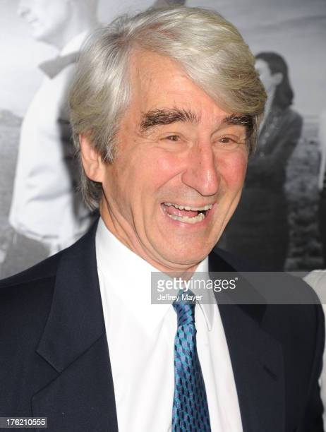Actor Sam Waterston arrives at the Los Angeles Season 2 Premiere Of HBO's Series 'The Newsroom' at Paramount Studios on July 10 2013 in Hollywood...