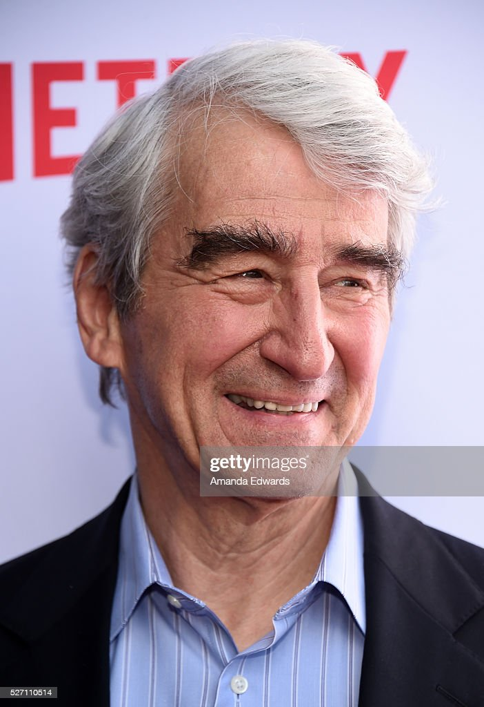 Actor <a gi-track='captionPersonalityLinkClicked' href=/galleries/search?phrase=Sam+Waterston&family=editorial&specificpeople=212718 ng-click='$event.stopPropagation()'>Sam Waterston</a> arrives at the Netflix Original Series 'Grace & Frankie' Season 2 premiere at the Harmony Gold Theater on May 1, 2016 in Los Angeles, California.