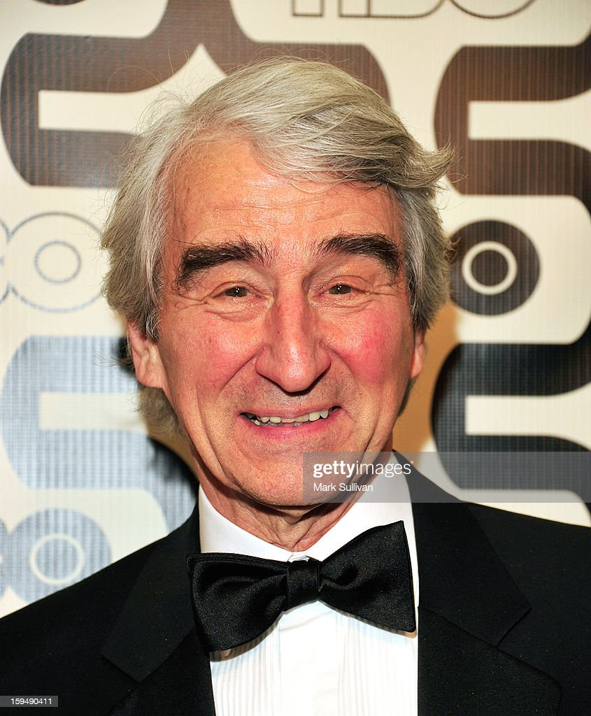 Actor <a gi-track='captionPersonalityLinkClicked' href=/galleries/search?phrase=Sam+Waterston&family=editorial&specificpeople=212718 ng-click='$event.stopPropagation()'>Sam Waterston</a> attends HBO's 70th Annual Golden Globes after party at Circa 55 Restaurant on January 13, 2013 in Los Angeles, California.