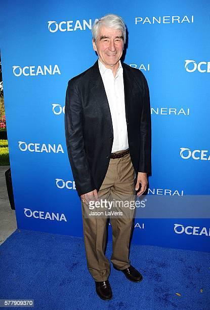 Actor Sam Waterston attends Oceana Sting Under the Stars on July 18 2016 in Los Angeles California