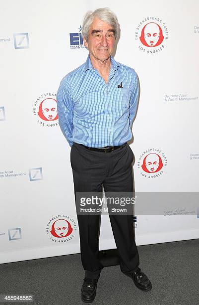 Actor Sam Waterston attends the 24th Annual Simply Shakespeare at the Freud Playhouse UCLA on September 22 2014 in Westwood California