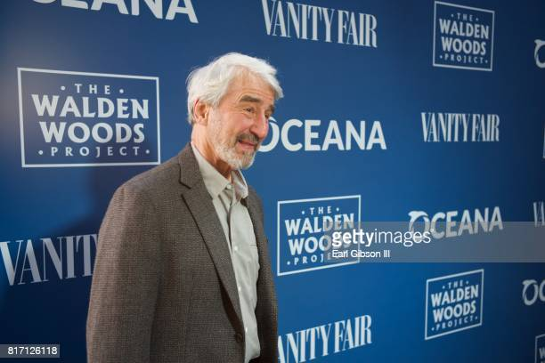 Actor Sam Waterston attends the Oceana And The Walden Woods Project Present Rock Under The Stars With Don Henley And Friends at Private Residence on...