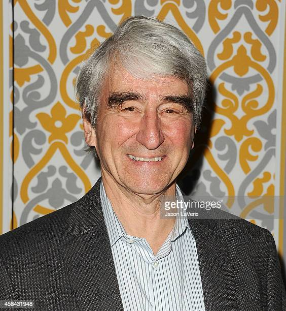 Actor Sam Waterston attends the premiere of 'The Newsroom' at DGA Theater on November 4 2014 in Los Angeles California