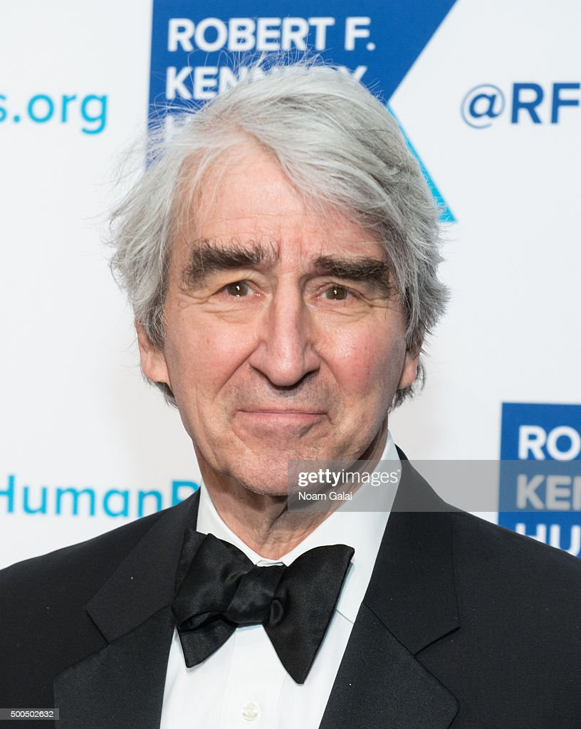 Actor Sam Waterston attends the Robert F. Kennedy human rights 2015 Ripple of Hope awards at New York Hilton Midtown on December 8, 2015 in New York City.