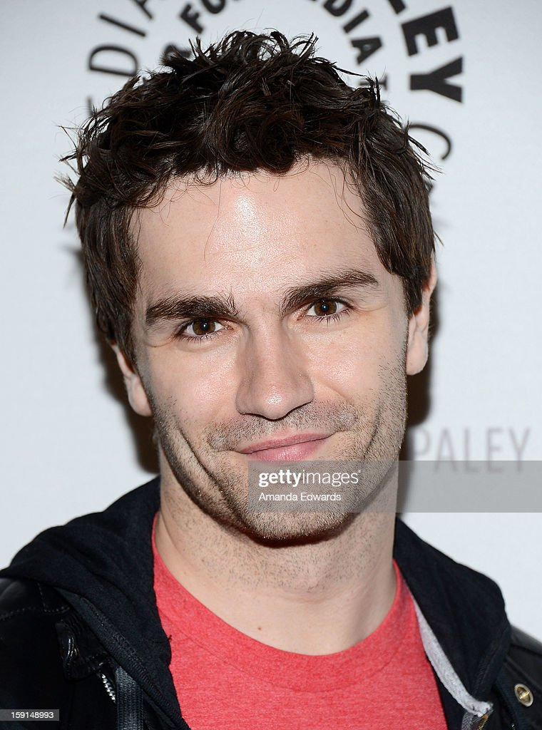 Actor <a gi-track='captionPersonalityLinkClicked' href=/galleries/search?phrase=Sam+Witwer&family=editorial&specificpeople=4631209 ng-click='$event.stopPropagation()'>Sam Witwer</a> arrives at The Paley Center for Media presents an evening with Syfy's 'Being Human' season 3 premiere screening and panel at The Paley Center for Media on January 8, 2013 in Beverly Hills, California.