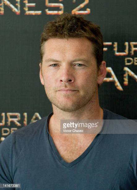 Actor Sam Worthington attends the 'Wrath of the Titans ' Mexico City photocall at the St Regis Hotel on March 19 2012 in Mexico City Mexico