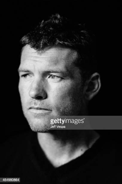 Actor Sam Worthington is photographed for a Portrait Session at the 2014 Toronto Film Festival on September 8 2014 in Toronto Ontario