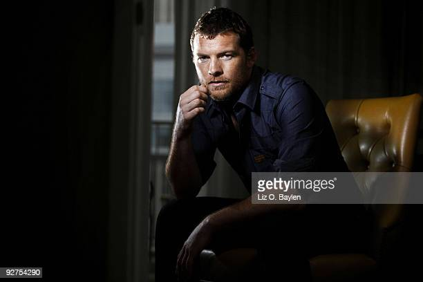 Actor Sam Worthington poses at a portrait session for Los Angeles Times in Los Angeles CA on November 1 2009 CREDIT MUST READ Liz OBaylen/Los Angeles...