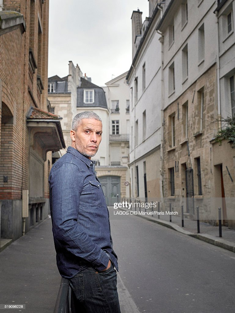 Actor Sami Bouajila is photographed for Paris Match on March 14, 2016 in Paris, France.
