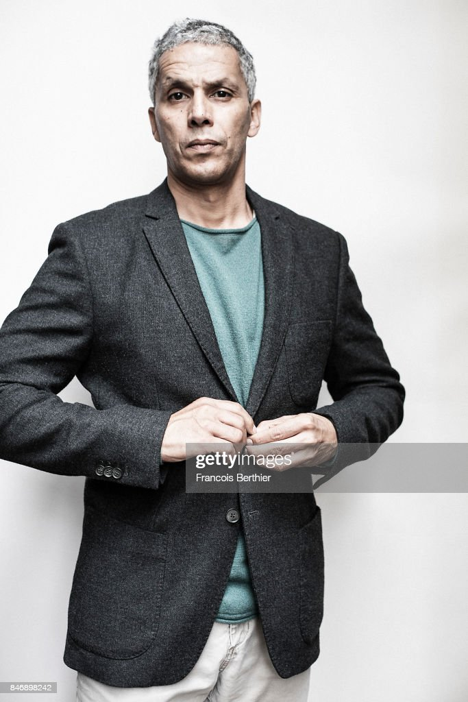 Actor Sami Bouajila is photographed on September 9, 2017 in Deauville, France.