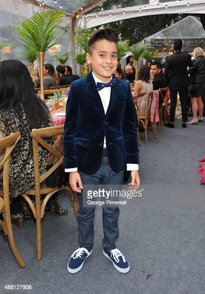 Actor Samir Amarshi attends the Holt Renfrew cast dinner for 'Beeba Boys' during the 2015 Toronto International Film Festival at The Mongrel House on...