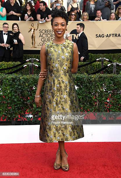Actor Samira Wiley attends The 23rd Annual Screen Actors Guild Awards at The Shrine Auditorium on January 29 2017 in Los Angeles California 26592_008