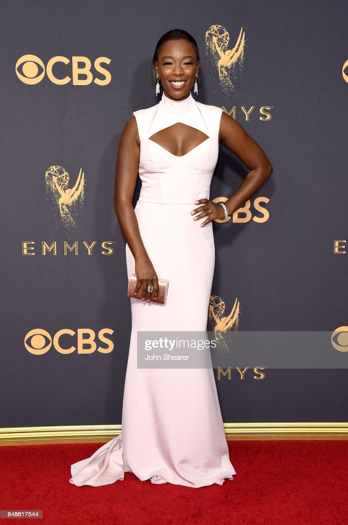Actor Samira Wiley attends the 69th Annual Primetime Emmy Awards at Microsoft Theater on September 17, 2017 in Los Angeles, California.