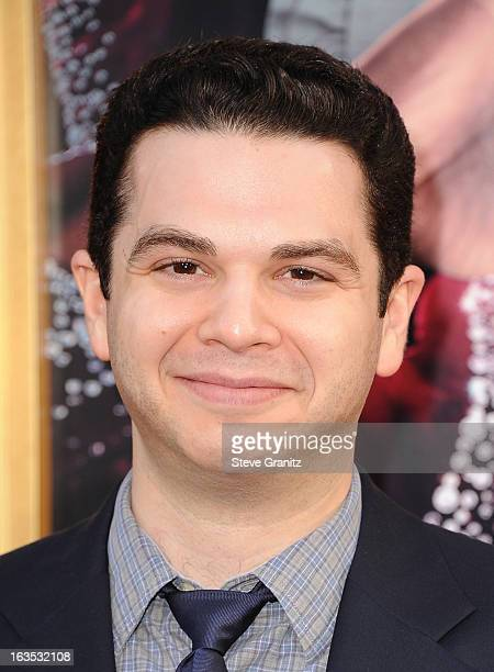 Actor Samm Levine attends 'The Incredible Burt Wonderstone' Los Angeles Premiere at TCL Chinese Theatre on March 11 2013 in Hollywood California