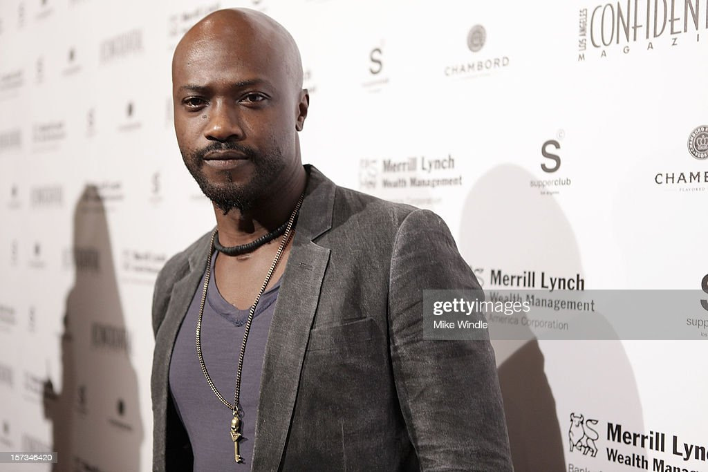 Actor Sammi Rotibi attends Los Angeles Confidential Celebrates 10th Anniversary presented by Merrill Lynch Wealth Management at SupperClub Los Angeles on December 1, 2012 in Los Angeles, California.