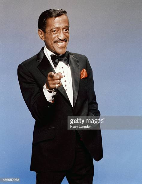 Actor Sammy Davis Jr poses for a portrait in 1988 in Los Angeles California