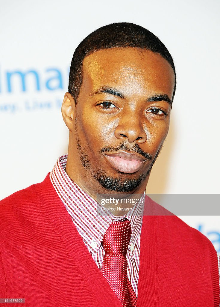 Actor Samson Styles attends the '42' event honoring Jackie Robinson at the Brooklyn Academy of Music on March 25, 2013 in New York City.