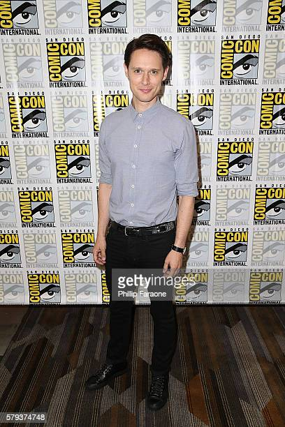 Actor Samuel Barnett attends the 'Dirk Gently's' press line during ComicCon International 2016 on July 23 2016 in San Diego California
