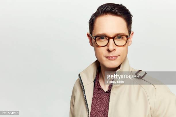 Actor Samuel Barnett from BBC America's 'Dirk Gently's Holistic Detective Agency' poses for a portrait during ComicCon 2017 at Hard Rock Hotel San...