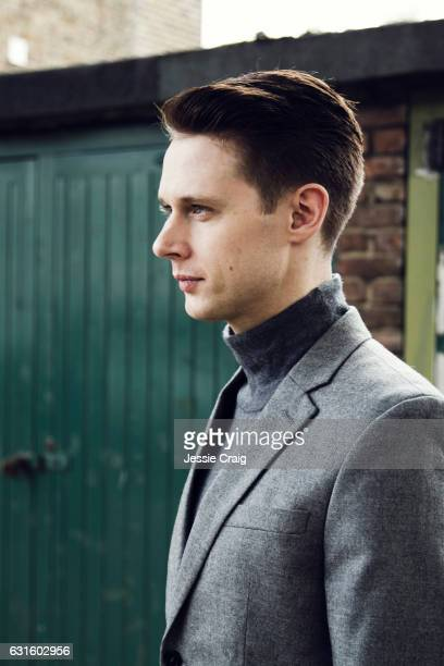 Actor Samuel Barnett is photographed for The Picture Journal on October 26 2016 in London England