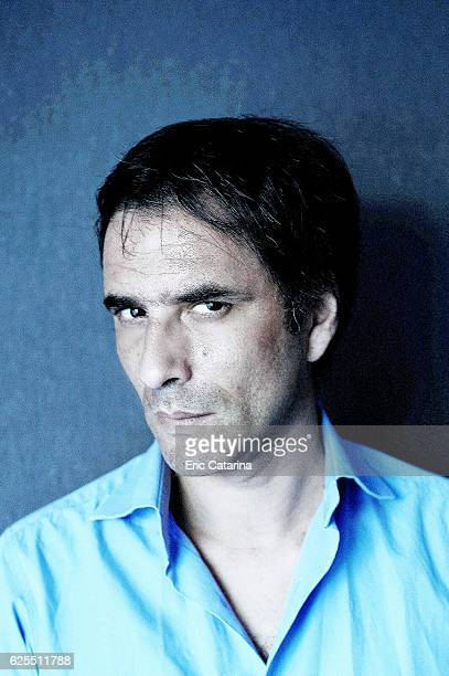 Actor Samuel Benchetrit is photographed for Self Assignment on May 15 2015 in Cannes France