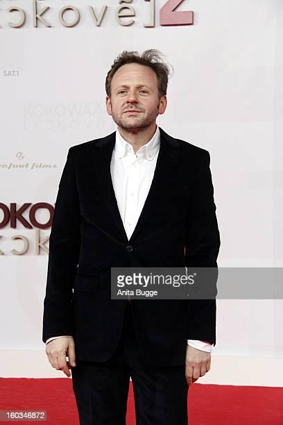Actor Samuel Finzi attends 'Kokowaeaeh 2' Germany Premiere at Cinestar Potsdamer Platz on January 29 2013 in Berlin Germany