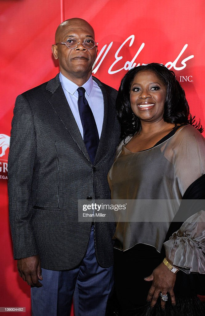 Actor Samuel L. Jackson and wife LaTanya Richardson arrive at the Keep Memory Alive foundation's 'Power of Love Gala' celebrating Muhammad Ali's 70th birthday at the MGM Grand Garden Arena February 18, 2012 in Las Vegas, Nevada. The event benefits the Cleveland Clinic Lou Ruvo Center for Brain Health and the Muhammad Ali Center.