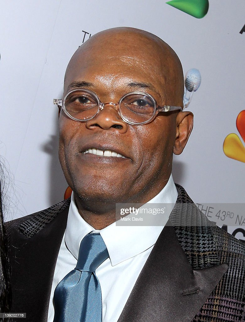 Actor <a gi-track='captionPersonalityLinkClicked' href=/galleries/search?phrase=Samuel+L.+Jackson&family=editorial&specificpeople=167234 ng-click='$event.stopPropagation()'>Samuel L. Jackson</a> arrives at the 43rd NAACP Image Awards held at The Shrine Auditorium on February 17, 2012 in Los Angeles, California.