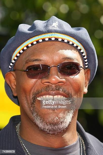 Actor Samuel L Jackson arrives to the 2007 MTV Movie Awards held at the Gibson Amphitheatre on June 3 2007 in Universal City California