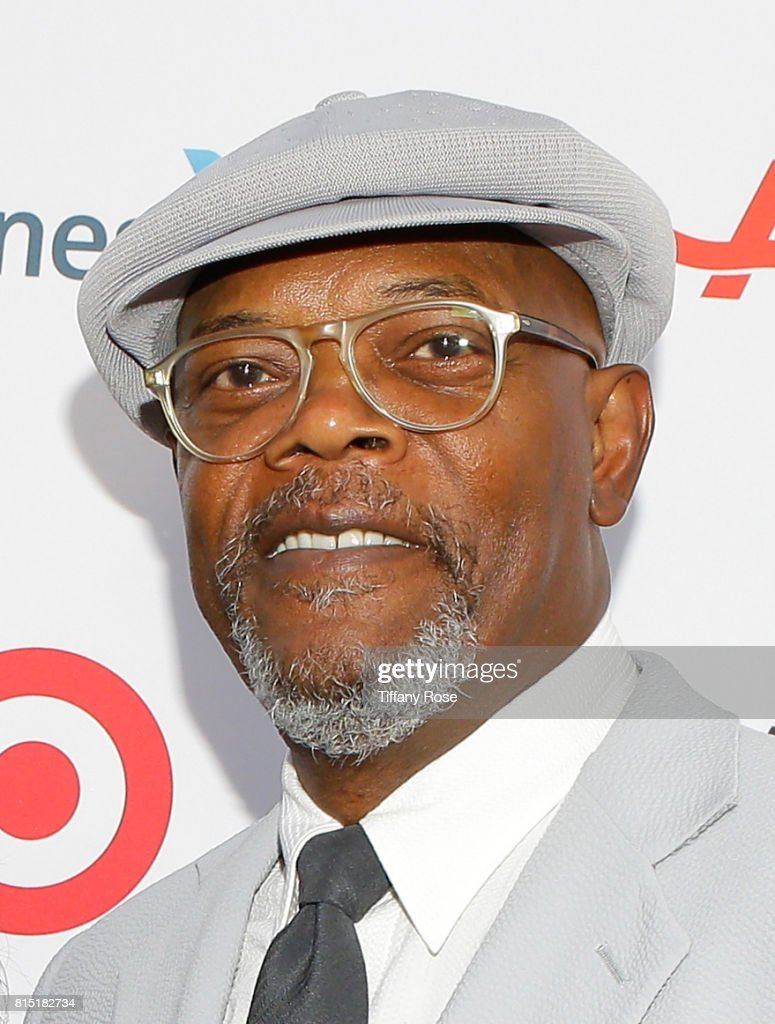 Actor Samuel L. Jackson at HollyRod Foundation's DesignCare Gala on July 15, 2017 in Pacific Palisades, California.