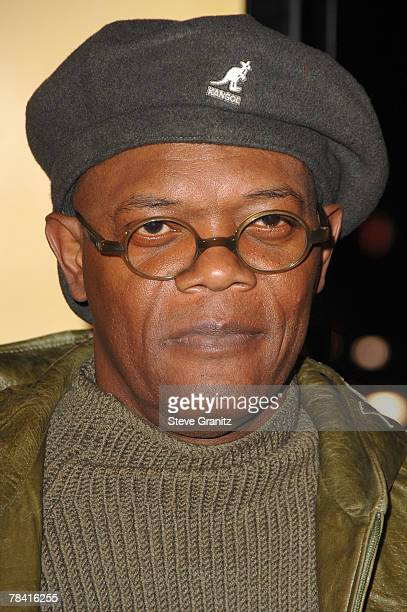 Actor Samuel L Jackson at the Weinstein Company premiere of 'The Great Debaters' at the Arclight Theater on December 11 2007 in Hollywood California