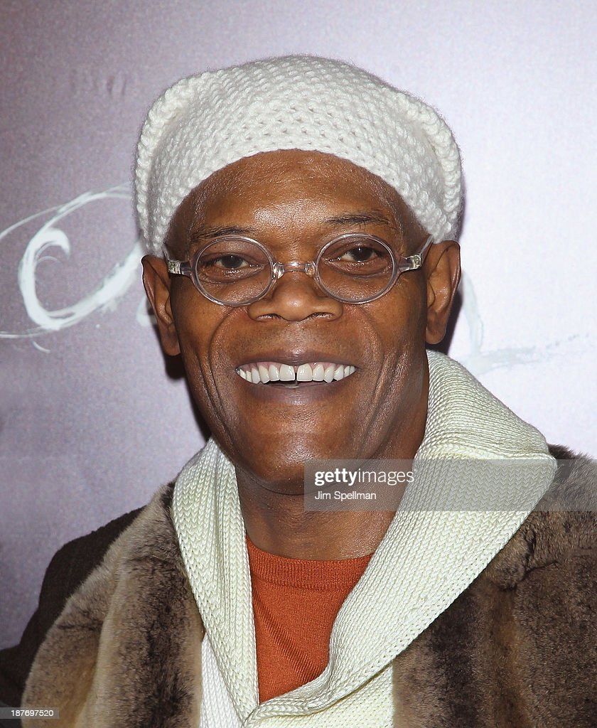 Actor <a gi-track='captionPersonalityLinkClicked' href=/galleries/search?phrase=Samuel+L.+Jackson&family=editorial&specificpeople=167234 ng-click='$event.stopPropagation()'>Samuel L. Jackson</a> attend the FilmDistrict & Complex Media with The Cinema Society & Grey Goose screening of 'Oldboy' at AMC Lincoln Square Theater on November 11, 2013 in New York City.
