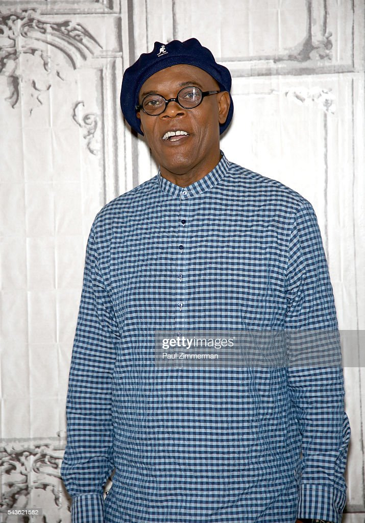 Actor <a gi-track='captionPersonalityLinkClicked' href=/galleries/search?phrase=Samuel+L.+Jackson&family=editorial&specificpeople=167234 ng-click='$event.stopPropagation()'>Samuel L. Jackson</a> attends AOL Build Presents - <a gi-track='captionPersonalityLinkClicked' href=/galleries/search?phrase=Samuel+L.+Jackson&family=editorial&specificpeople=167234 ng-click='$event.stopPropagation()'>Samuel L. Jackson</a> From The New Movie 'The Legend Of Tarzan' at AOL Studios In New York on June 29, 2016 in New York City.