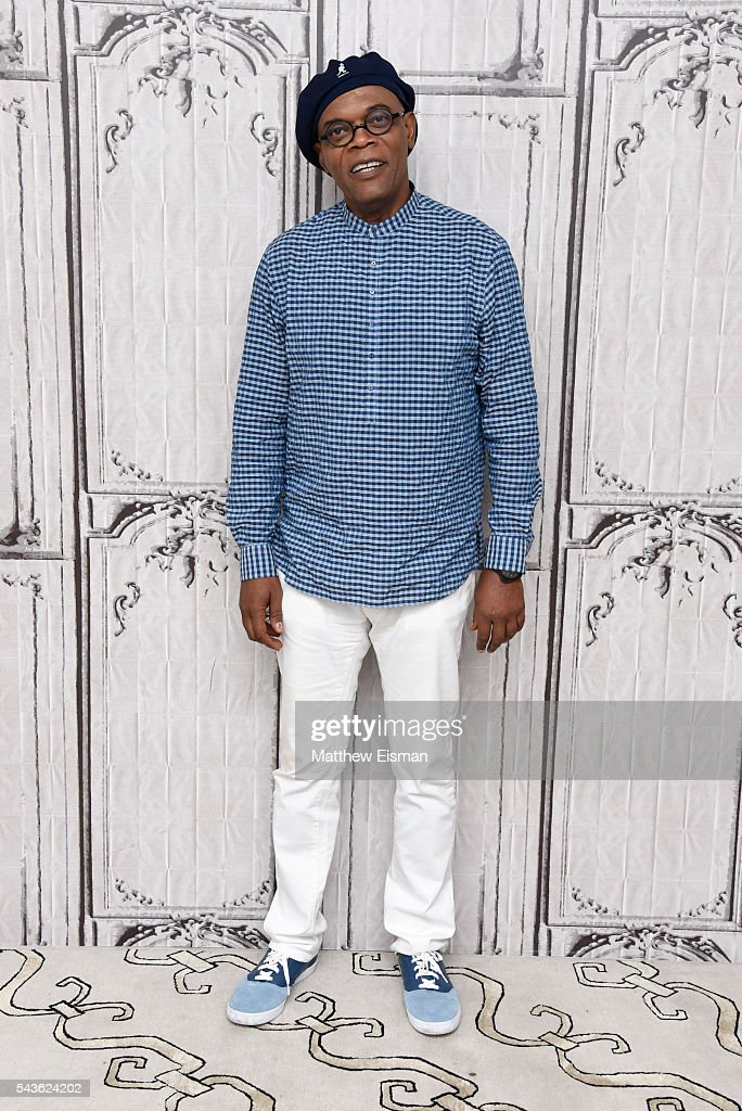 Actor Samuel L. Jackson attends AOL Build Presents - Samuel L. Jackson from the new movie 'The Legend Of Tarzan' at AOL Studios in New York on June 29, 2016 in New York City.