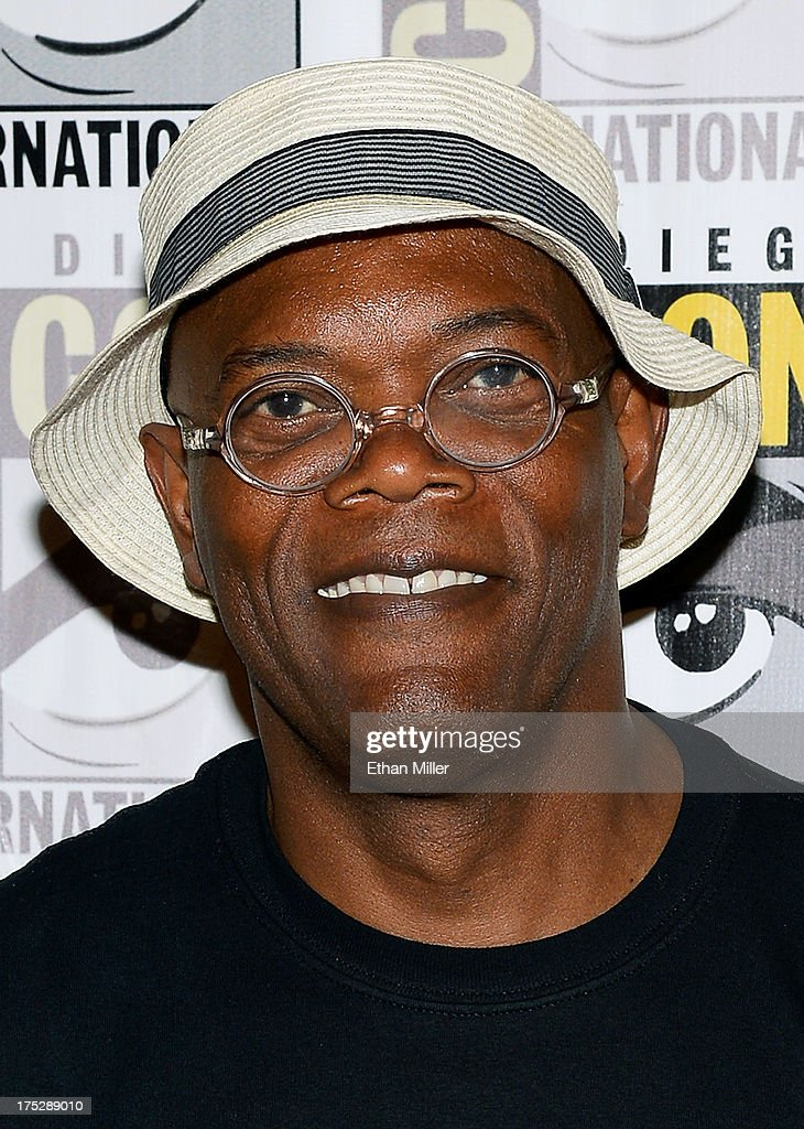 Actor Samuel L. Jackson attends Marvel's 'Captain America: The Winter Soldier' press line during Comic-Con International 2013 at the Hilton San Diego Bayfront Hotel on July 20, 2013 in San Diego, California.