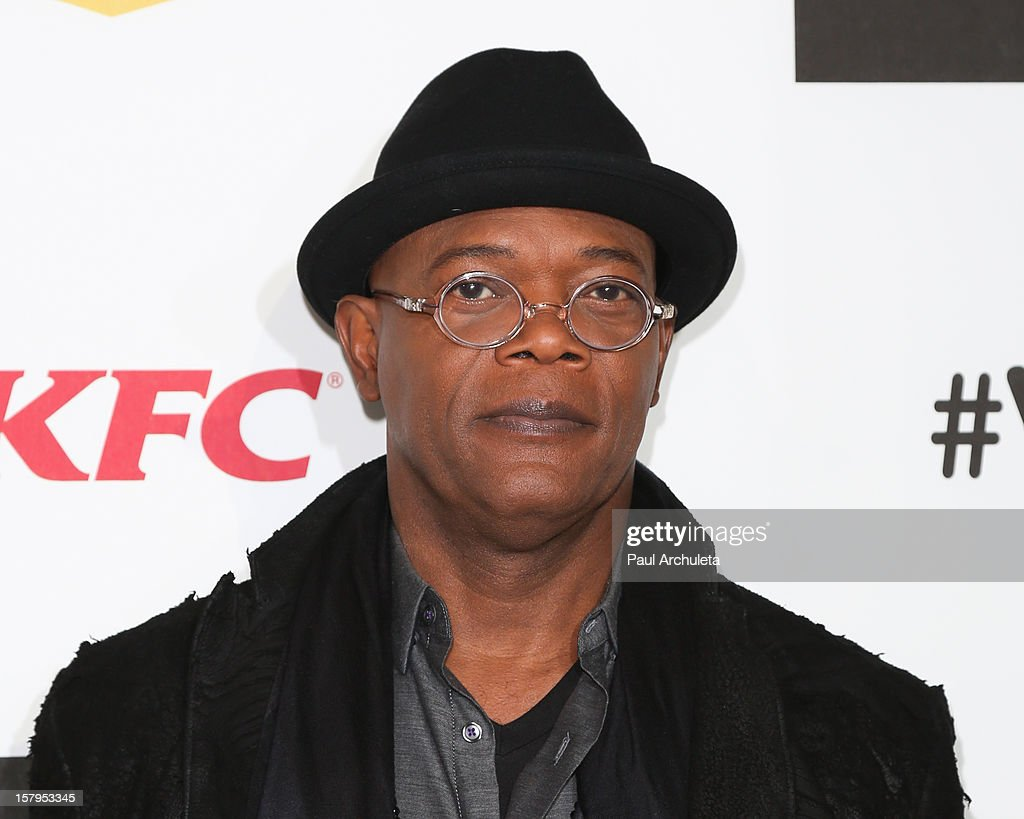 Actor <a gi-track='captionPersonalityLinkClicked' href=/galleries/search?phrase=Samuel+L.+Jackson&family=editorial&specificpeople=167234 ng-click='$event.stopPropagation()'>Samuel L. Jackson</a> attends Spike TV's 10th Annual Video Game Awards at Sony Pictures Studios on December 7, 2012 in Culver City, California.