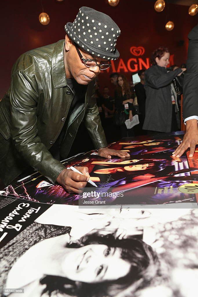 Actor Samuel L. Jackson attends Target Presents AFI's Night at the Movies at ArcLight Cinemas on April 24, 2013 in Hollywood, California.