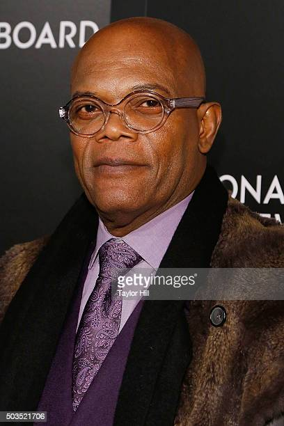 Actor Samuel L Jackson attends the 2015 National Board of Review Gala at Cipriani 42nd Street on January 5 2016 in New York City