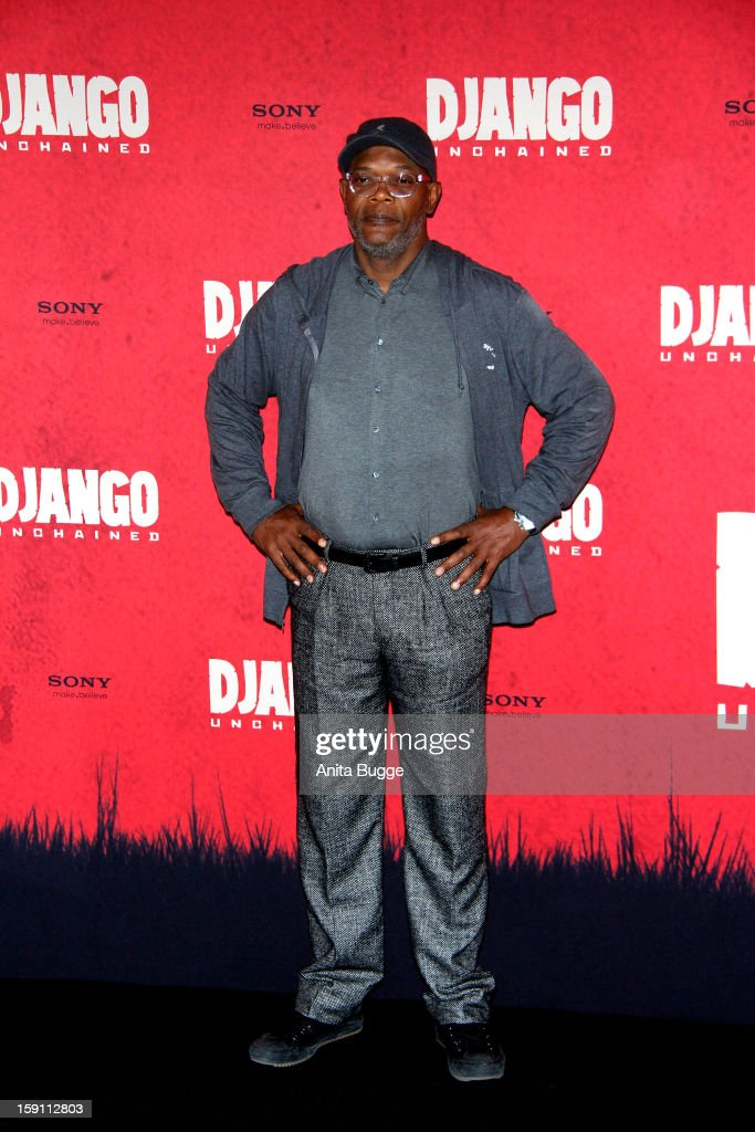 Actor Samuel L. Jackson attends the 'Django Unchained' Berlin Photocall at Hotel de Rome on January 8, 2013 in Berlin, Germany.