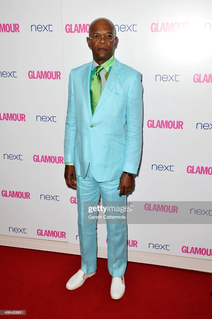 Actor <a gi-track='captionPersonalityLinkClicked' href=/galleries/search?phrase=Samuel+L.+Jackson&family=editorial&specificpeople=167234 ng-click='$event.stopPropagation()'>Samuel L. Jackson</a> attends the Glamour Women of the Year Awards at Berkeley Square Gardens on June 3, 2014 in London, England.