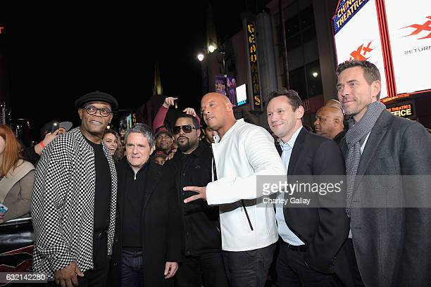 Actor Samuel L Jackson Chairman and CEO Paramount Pictures Corporation Brad Grey actor/rapper Ice Cube actor/producer Vin Diesel CEO of Revolution...