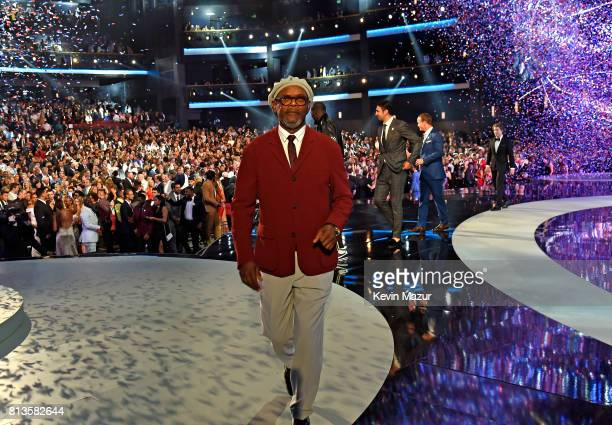 Actor Samuel L Jackson onstage at The 2017 ESPYS at Microsoft Theater on July 12 2017 in Los Angeles California